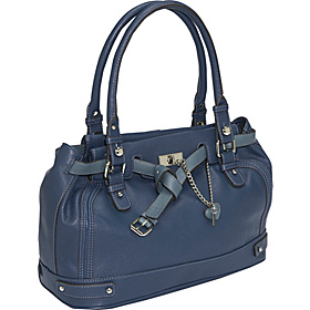 Plain Jane Med Satchel Indigo Denim