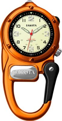 Dakota Watch Company Mini Clip Microlight - Orange