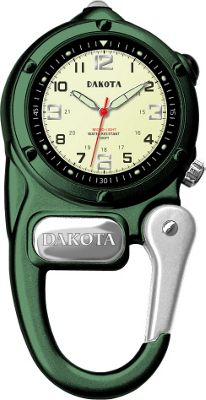 Dakota Watch Company Mini Clip Microlight - Green