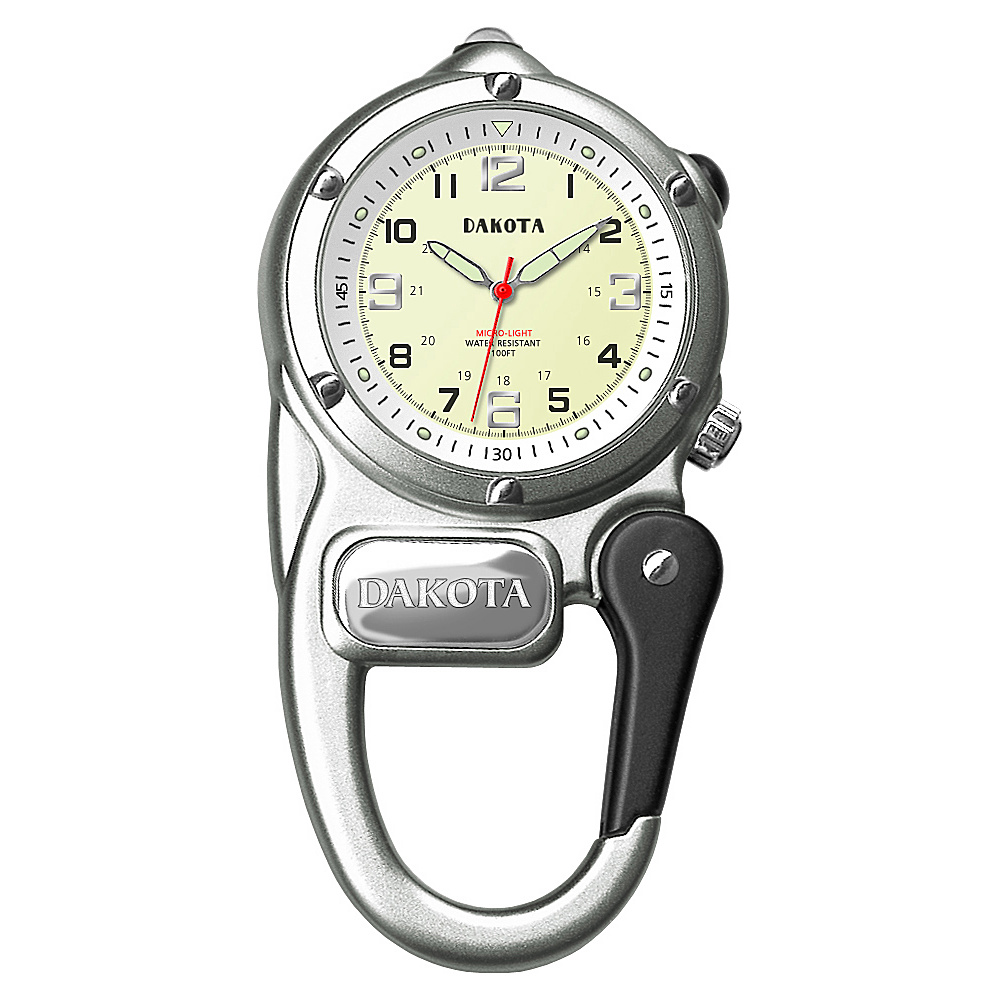 Dakota Watch Company Mini Clip Microlight Grey
