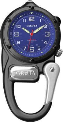 Dakota Watch Company Mini Clip Microlight - Black/Blue
