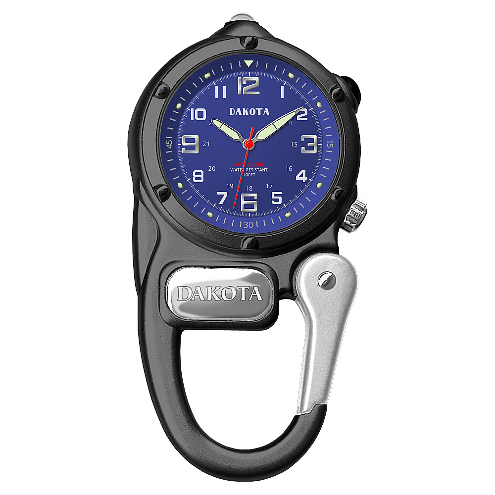 Dakota Watch Company Mini Clip Microlight Black/blue