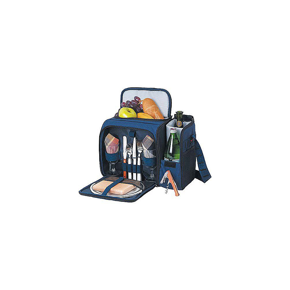 Picnic Time Malibu Insulated Picnic Pack Navy bag w