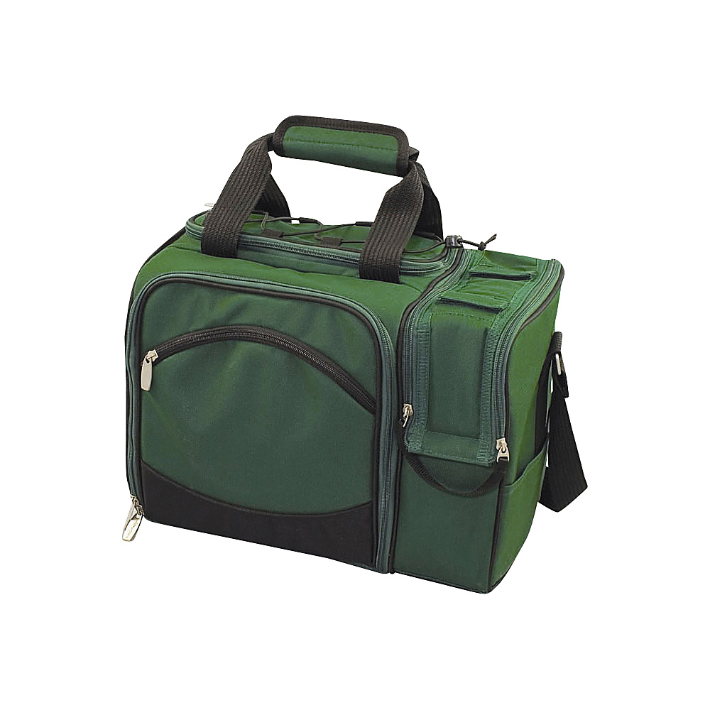 Picnic Time Malibu Insulated Picnic Pack Hunter Green