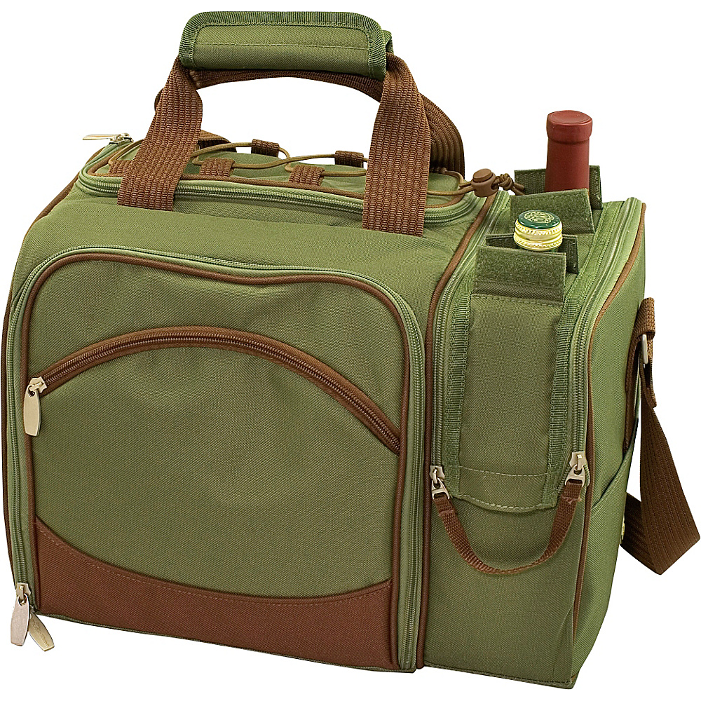 Picnic Time Malibu Insulated Picnic Pack Pine Green