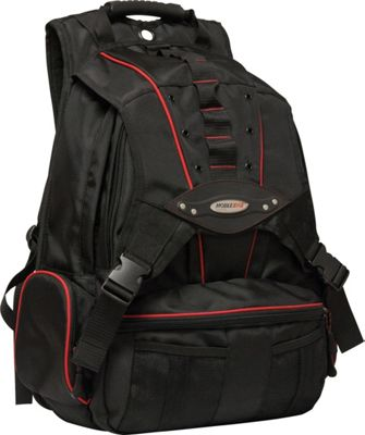 Mobile Edge Premium Laptop Backpack - 17.3 inch Black/Red - Mobile Edge Laptop Backpacks
