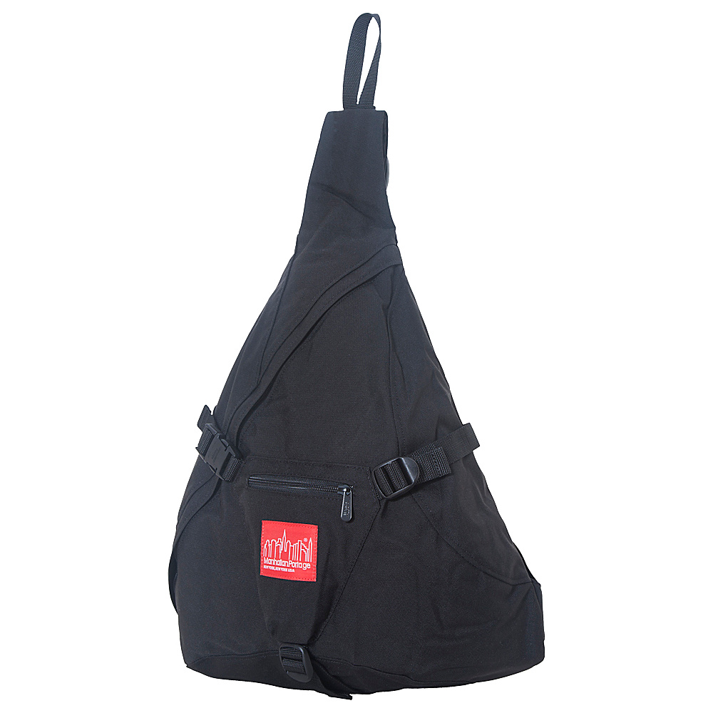 Manhattan Portage J-Bag (Large) - Black - Backpacks, Slings