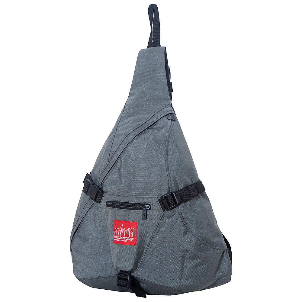 Manhattan Portage J-Bag (Large) Gray - Manhattan Portage Slings