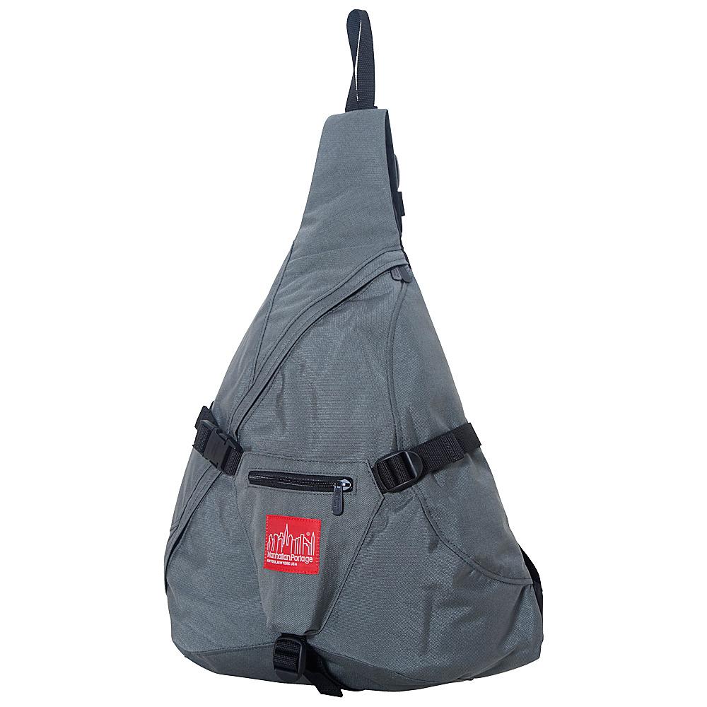 Manhattan Portage J-Bag (Large) Gray - Manhattan Portage Slings - Backpacks, Slings
