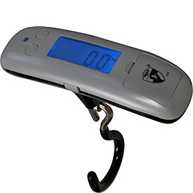microSCALE Luggage Scale Silver
