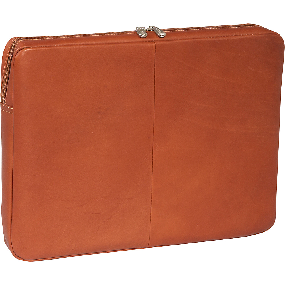 Piel 15Zip Laptop Sleeve - Saddle - Technology, Electronic Cases