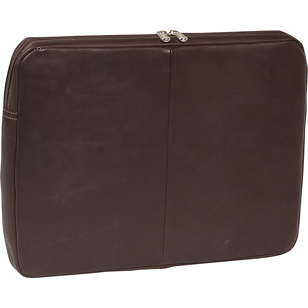 Piel 15Zip Laptop Sleeve - Chocolate - Technology, Electronic Cases