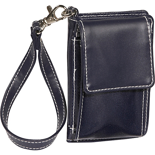 Clava Wellie Cell Phone Wallet - Navy