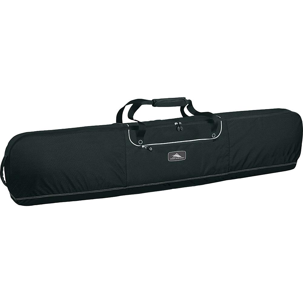 High Sierra Deluxe Snowboard Bag - Black - Sports, Ski and Snowboard Bags