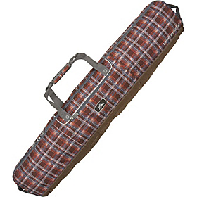 Deluxe Snowboard Bag Mountain Plaid, Espresso