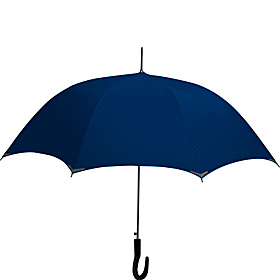 WalkSafe® Auto Stick Umbrella - Solid Colors New Navy