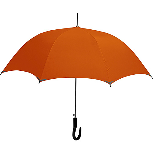 ShedRain WalkSafe Auto Stick Umbrella - Mesa Orange