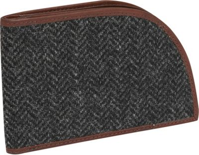 Rogue Wallets RFID Bedford Wallet - Gray Tweed Wool