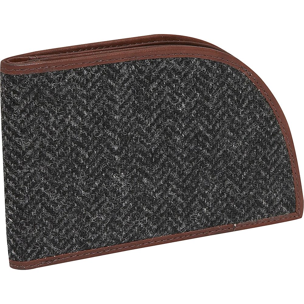 Rogue Wallets RFID Bedford Wallet Gray Tweed Wool