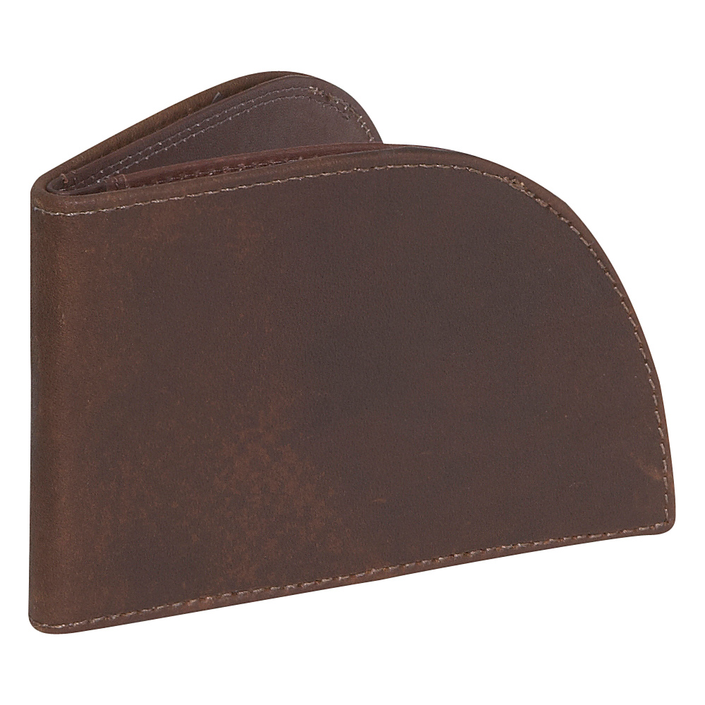 Rogue Wallets RFID Vault Wallet Brown No Trim