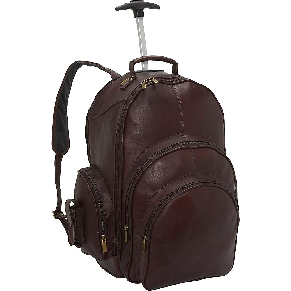 David King & Co. Rolling Laptop Backpack Cafe - David King & Co. Rolling Backpacks - Backpacks, Rolling Backpacks