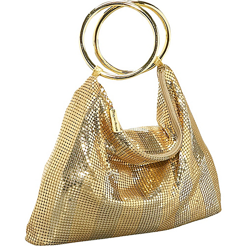 Whiting and Davis Matte-Shine Stripes Bracelet Bag - Shoulder Bag