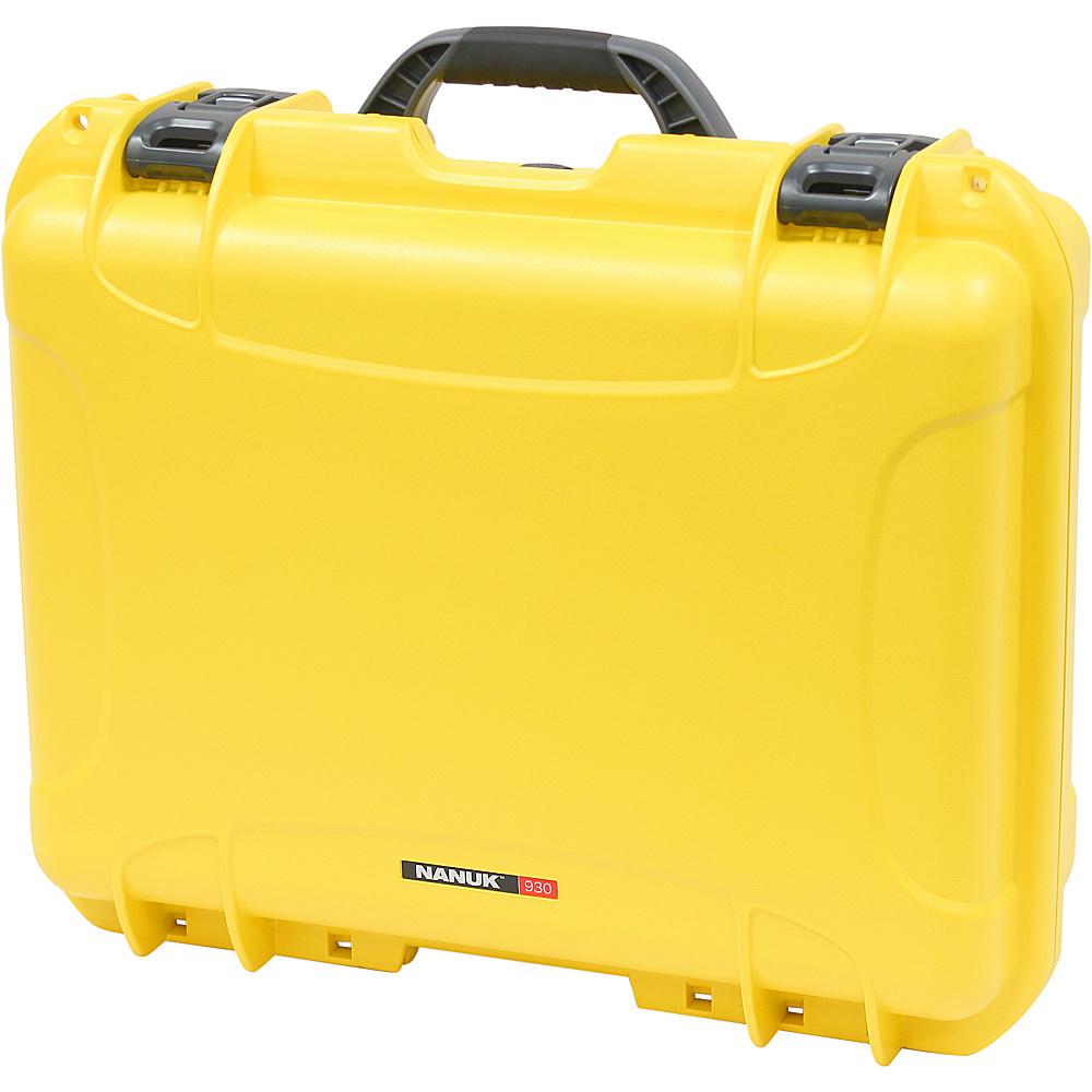 NANUK 930 Case - Yellow - Outdoor, Tactical