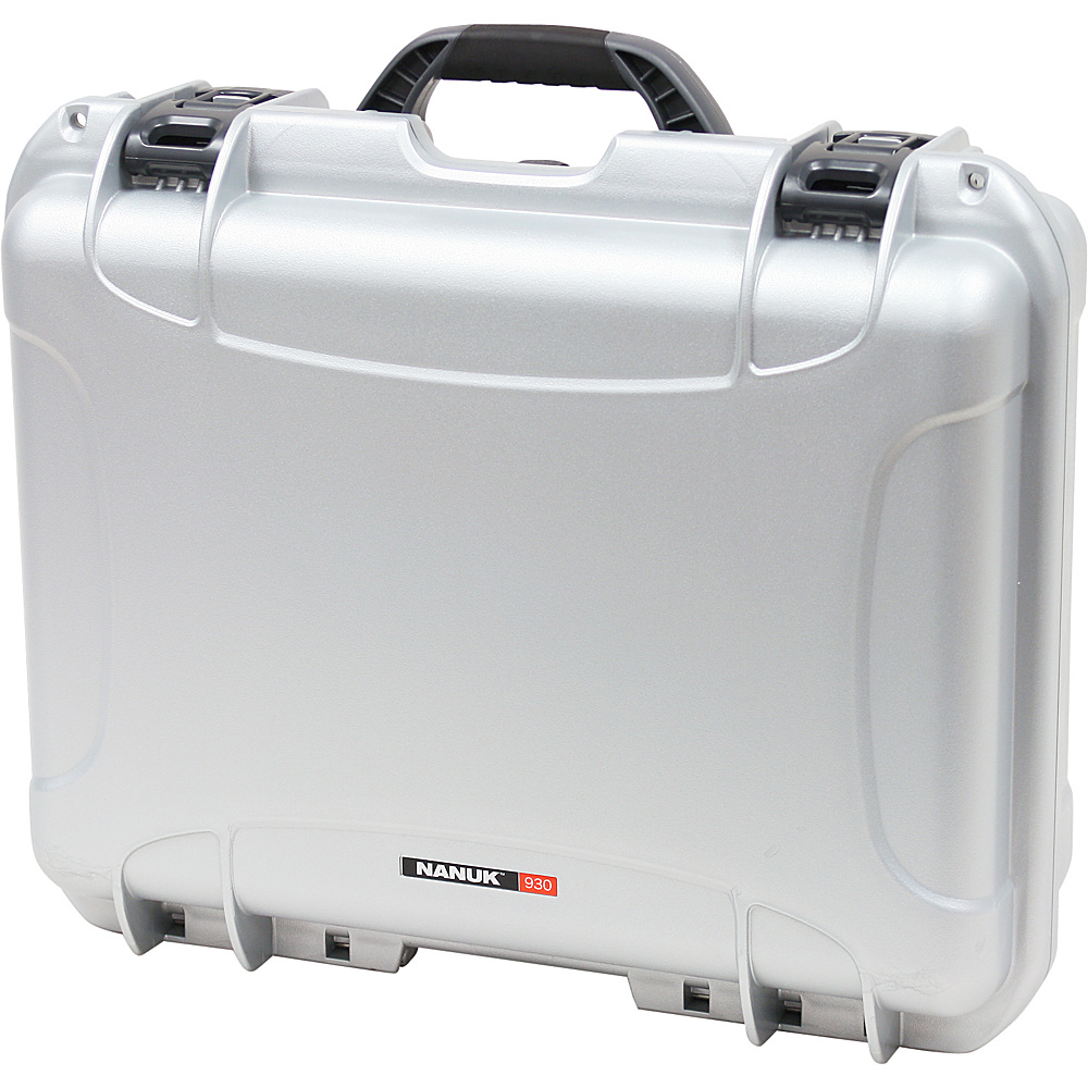 NANUK 930 Case - Silver - Outdoor, Tactical
