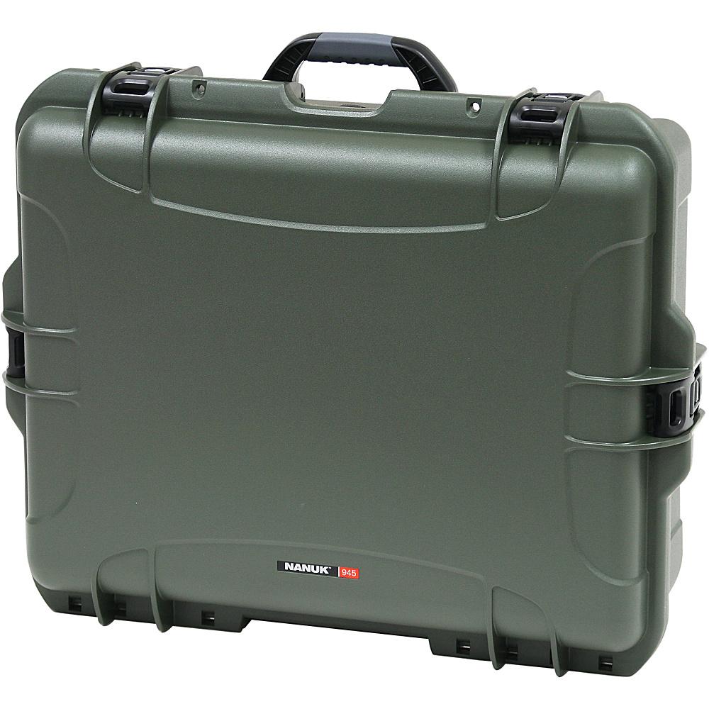 NANUK 945 Water Tight Protective Case Olive - NANUK Camera Accessories - Technology, Camera Accessories