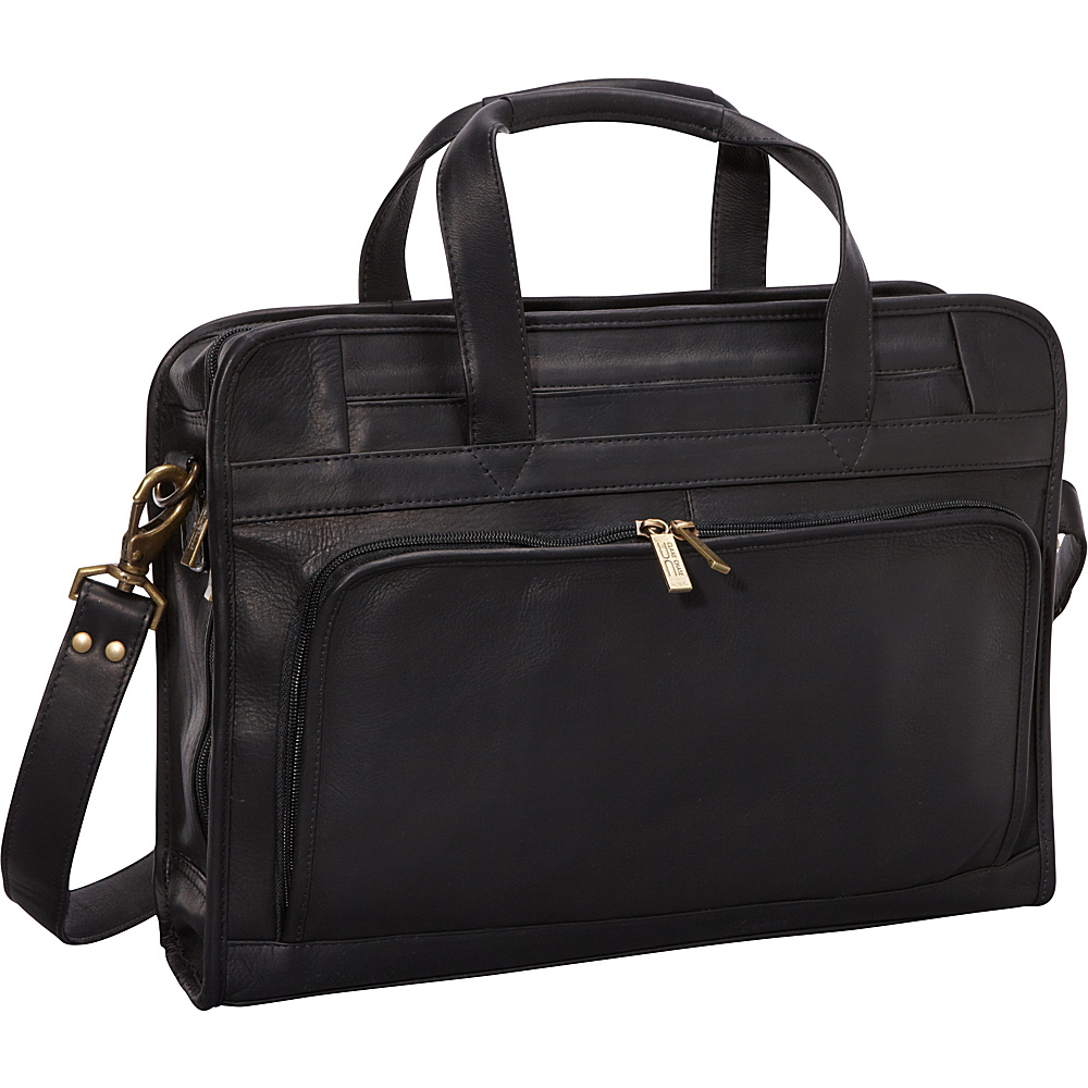 ClaireChase Professional Computer Briefcase - Black - Work Bags & Briefcases, Non-Wheeled Business Cases