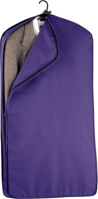 Wally Bags 42 inch Suit Length Garment Cover Purple - Wally Bags Garment Bags