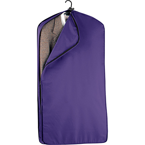 "Wally Bags 42"" Suit Length Garment Cover Purple - Wally Bags Garment Bags"