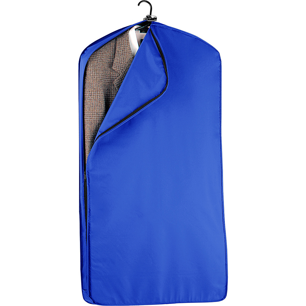 "Wally Bags 42"" Suit Length Garment Cover Royal - Wally Bags Garment Bags"