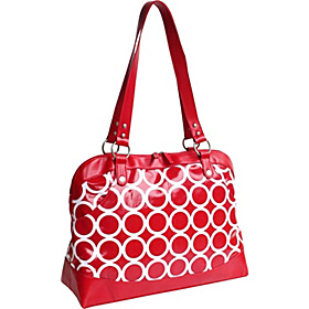 Laptop Satchel Red Circles