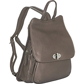 N/S Front Flap Backpack Bronze