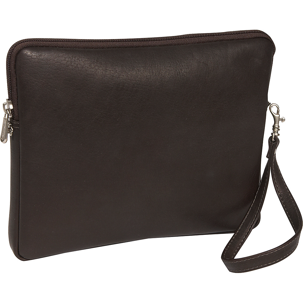 Piel Leather iPad Sleeve - Chocolate - Technology, Electronic Cases