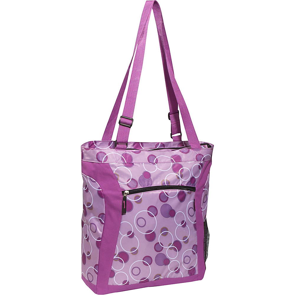 Everest Deluxe Utility Tote Bag - Lavender/Purple