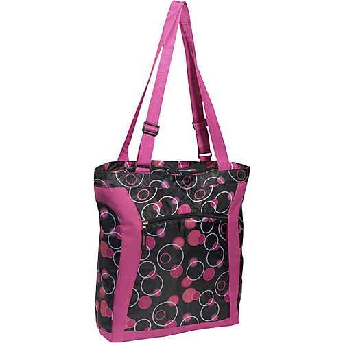Everest Deluxe Utility Tote Bag - Magenta Plum
