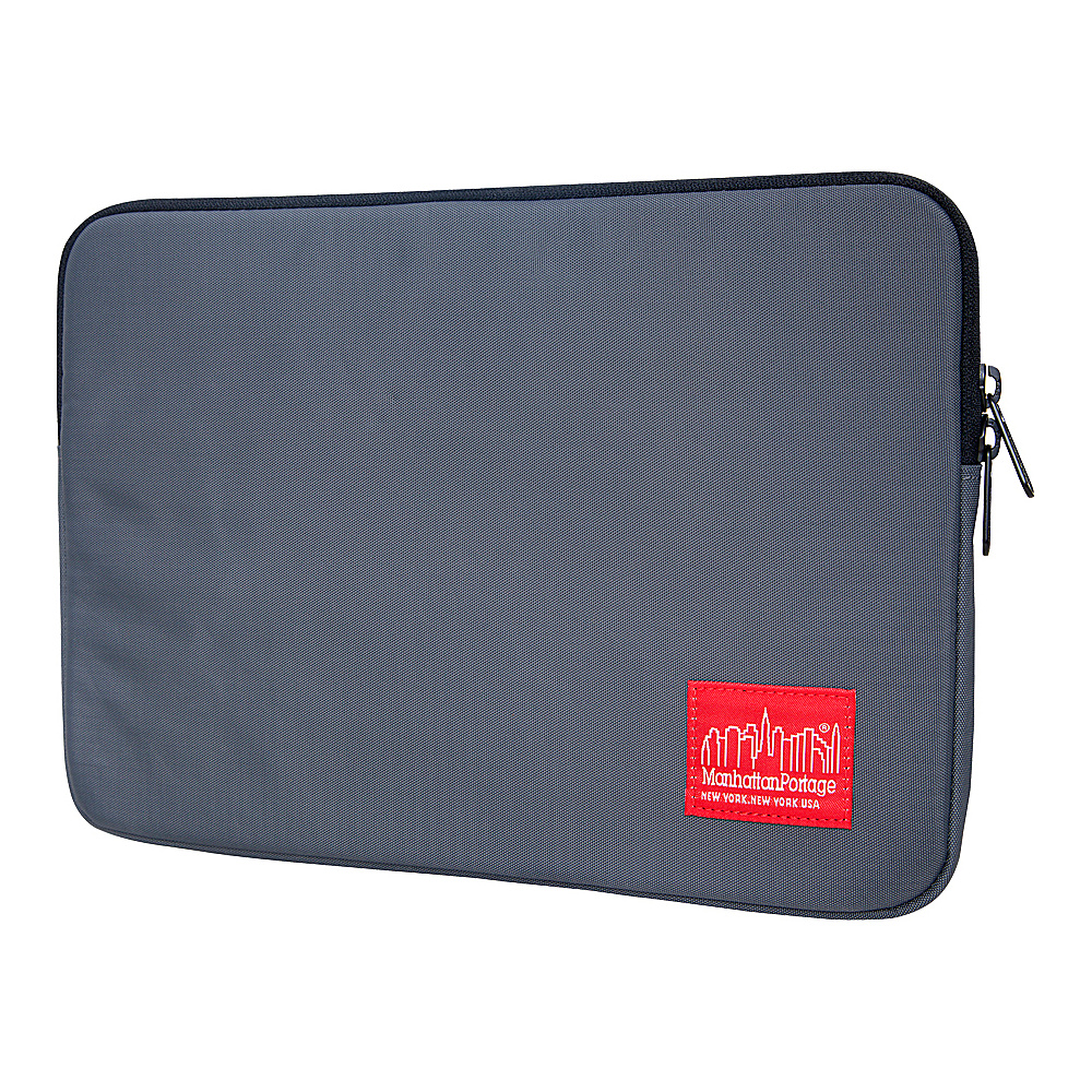 Manhattan Portage Nylon Laptop Sleeve (10) - Gray - Technology, Electronic Cases