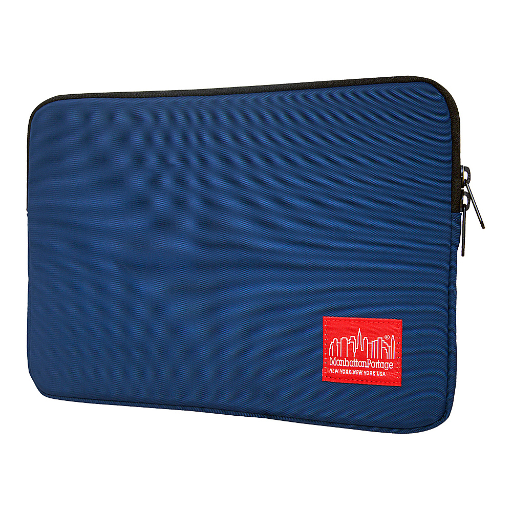 Manhattan Portage Nylon Laptop Sleeve (10) - Navy - Technology, Electronic Cases