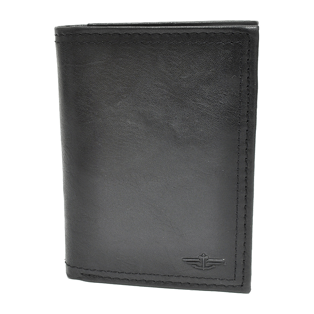Dockers Wallets Trifold Wallet - Black - Work Bags & Briefcases, Men's Wallets