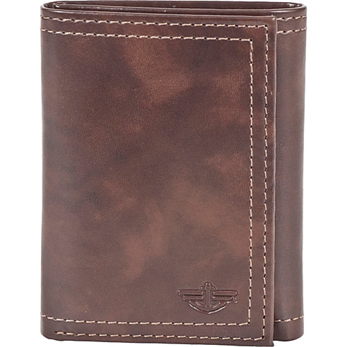 Dockers Wallets Trifold Wallet - Brown