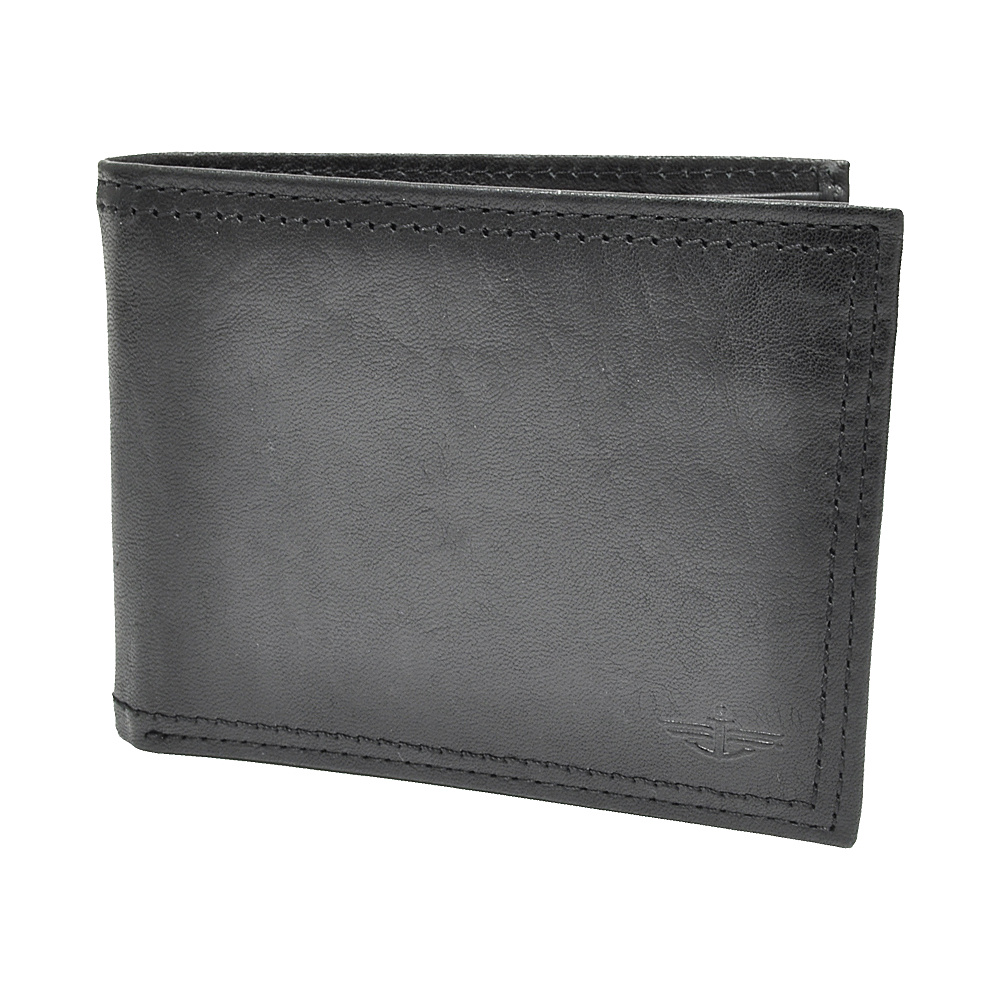 Dockers Wallets Pocketmate Wallet - Black - Work Bags & Briefcases, Men's Wallets