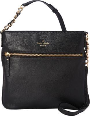 kate spade new york Cobble Hill Ellen Crossbody Black - kate spade new york Designer Handbags