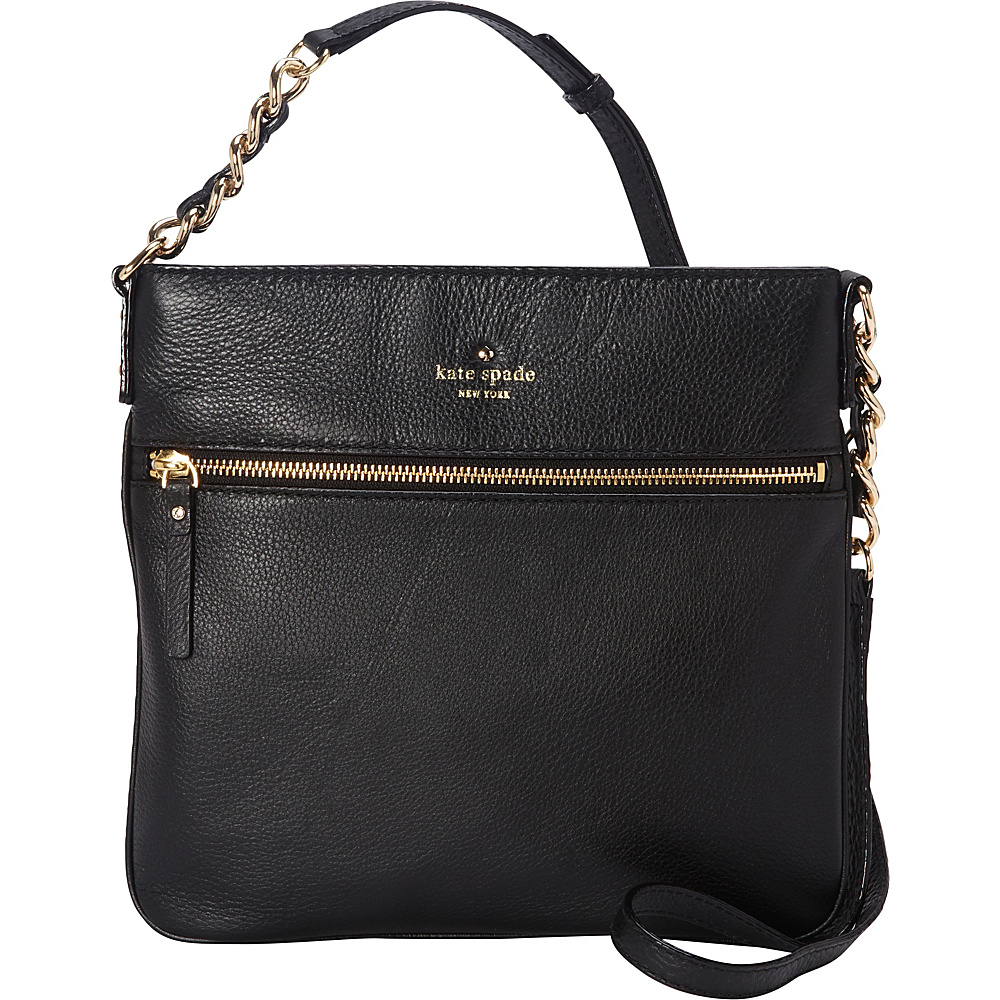 kate spade new york Cobble Hill Ellen Crossbody Black - kate spade new york Designer Handbags