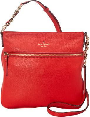 kate spade new york Cobble Hill Ellen Crossbody Cherry Liquer - kate spade new york Designer Handbags
