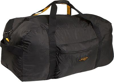 "Image of A. Saks 36"" Lightweight Folding Duffel Black - A. Saks Travel Duffels"
