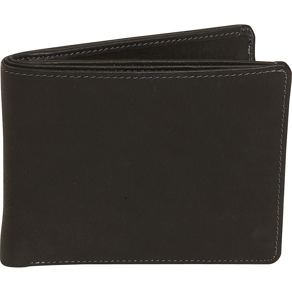 Derek Alexander Billfold - Black - Work Bags & Briefcases, Men's Wallets
