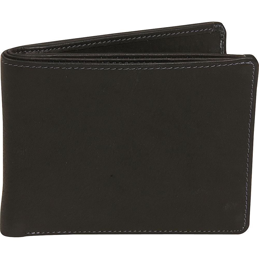 Derek Alexander Billfold - Black - Work Bags & Briefcases, Men's Wallets