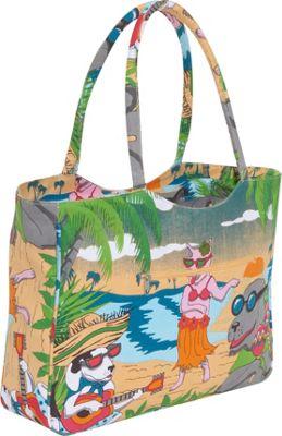Tianni Hawaiian Dogs Beach Tote Bag Ebags Com